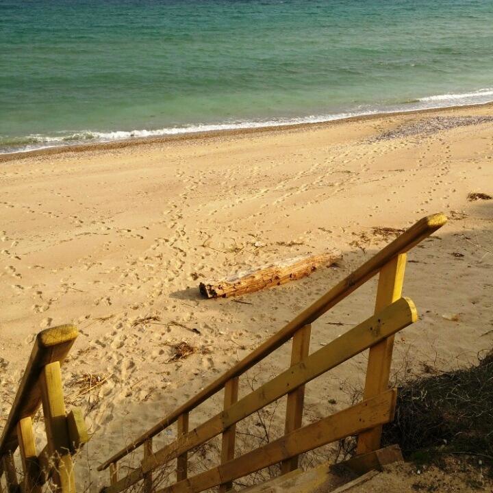 фото спуска на пляж