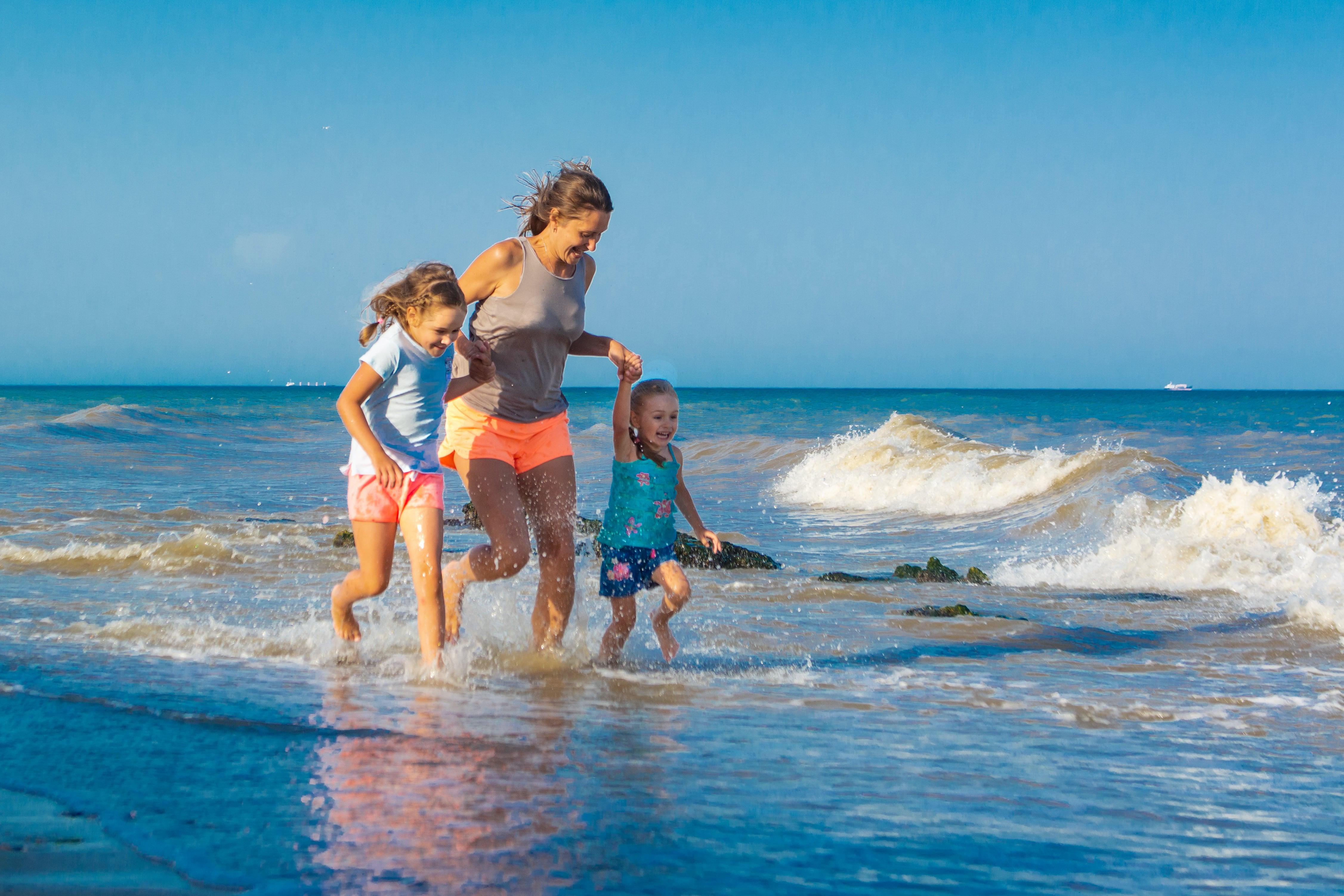 лучшее место для семейного отдыха с детьми -свой пляж Эко-дачи