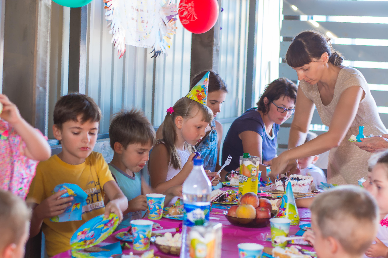 Детский праздник на Эко-даче