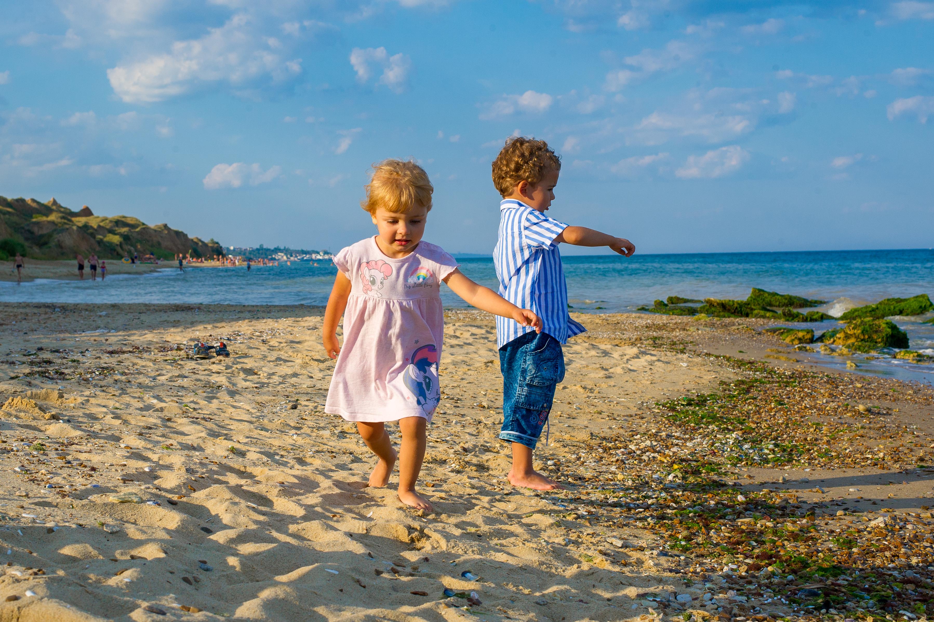 Лучший пляж для маленьких детей Украина Эко-дача