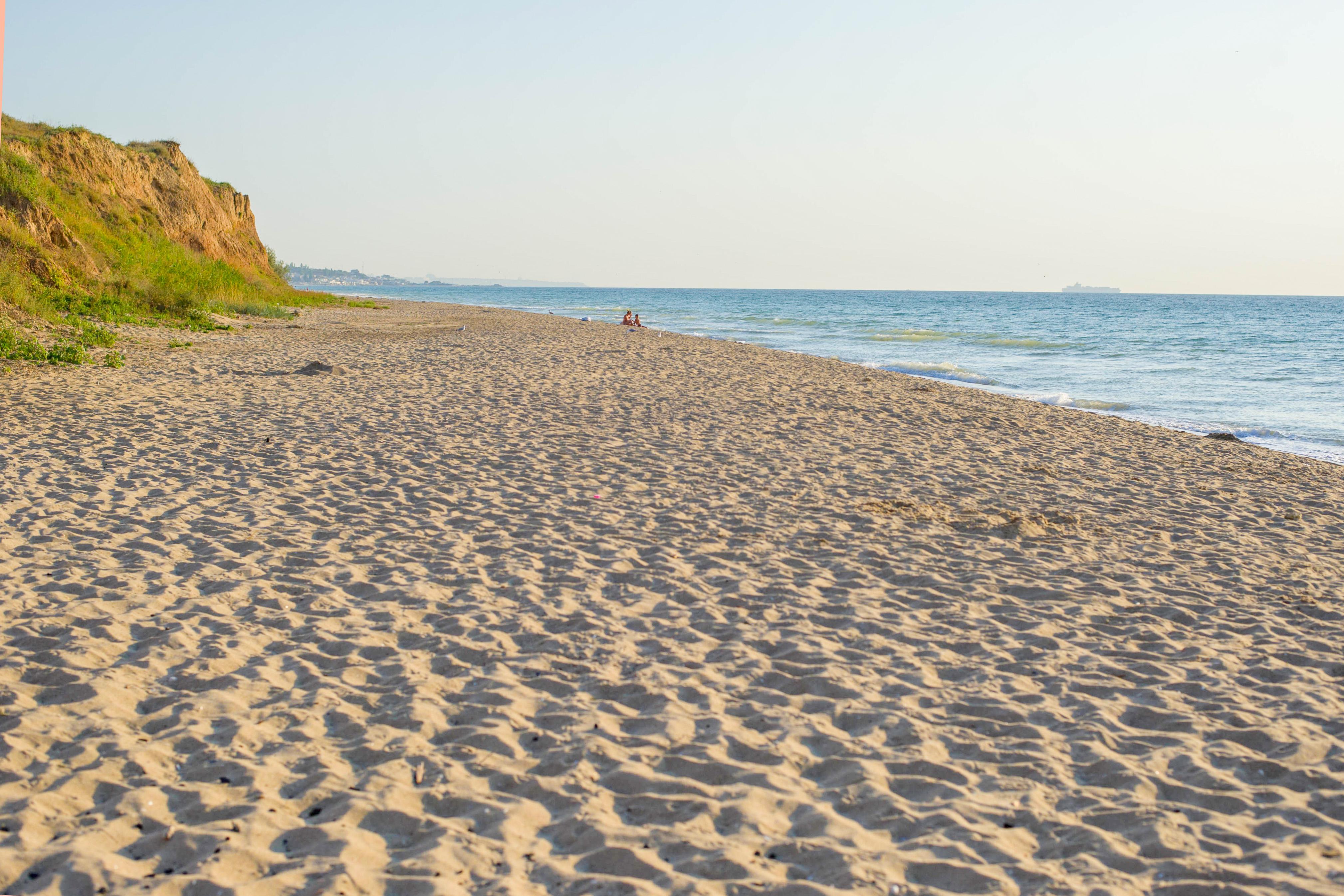 Свой дикий пляж гостевого комплекса Эко-дача Черноморск