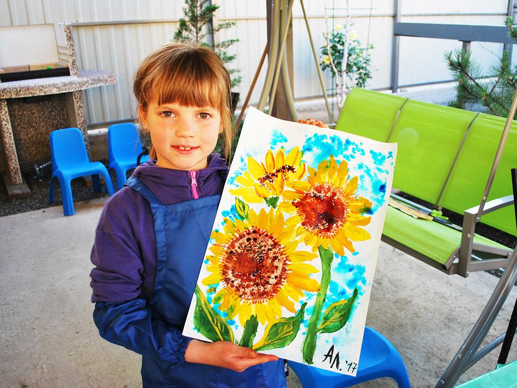 отдых с детьми летом на море занятия по живописи